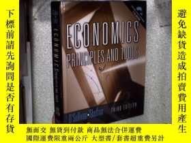 二手書博民逛書店ECONOMICS罕見PRINCIPLES AND TOOLS