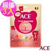 ACE 水果Q軟糖 3入(240g/袋)
