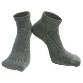 【岱宇國際Dyaco】SPIRIT 跑步短筒襪(壓縮/除臭)-深灰