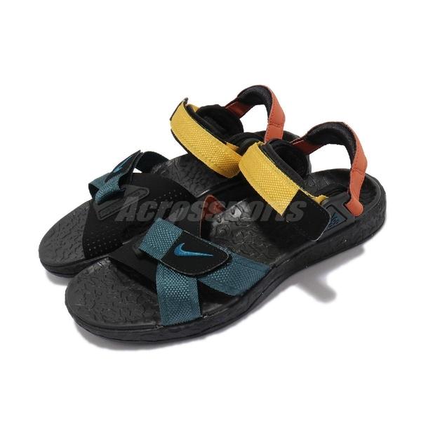 Nike 涼拖鞋 ACG Air Deschutz 涼鞋 彩色 黑 魔鬼氈 戶外 男鞋 【ACS】 DC9093-300