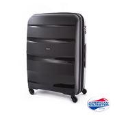 AT美國旅行者 24吋 BON-AIR擴充式四輪行李箱(時尚黑)