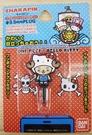 【震撼精品百貨】ONE PIECE&HELLO KITTY_聯名海賊王喬巴&凱蒂貓系列~防塵塞-喬巴及KITTY
