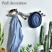歐式創意梅花樹枝壁掛飾墻上衣帽架排鉤臥室服裝店墻面裝飾掛鉤「Top3c」
