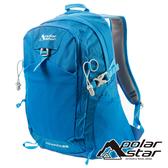 【PolarStar】透氣網架背包28L『天藍』P19803 露營.戶外.旅遊.登山背包.後背包.肩背包.手提包.行李包