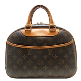 路易威登 LOUIS VUITTON LV 原花手提包 小珍包 Trouville M42228 【BRAND OFF】