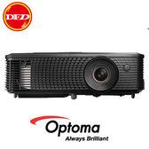 OPTOMA 奧圖碼 X341 多功能 投影機 XGA 3,300流明  內建2W喇叭 公司貨