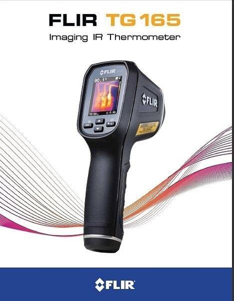 TECPEL 泰菱》FLIR 熱像儀 基礎型 TG165 熱顯像儀 紅外線溫度計 測溫槍 測溫儀