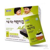韓國 智慧媽媽 嬰幼兒無鹽海苔~原味(12個月以上) 50478 好娃娃