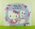 【震撼精品百貨】Hello Kitty 凱蒂貓~卡片-糖果紫