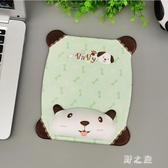韓版滑鼠墊創意可愛卡通動漫舒適柔軟3D墊加厚女生游戲男生電腦辦公墊 KV6533 【野之旅】