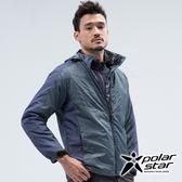 PolarStar 中性 鋪棉連帽保暖外套『深藍』 P18217 戶外 休閒 登山 露營 保暖 禦寒 防風 鋪棉