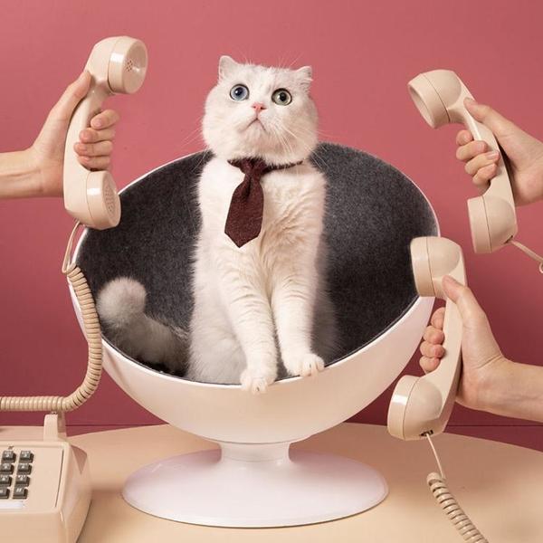 一佳寵物館 貓老板貓窩四季通用 貓咪房子屋夏涼爽小幼貓舍