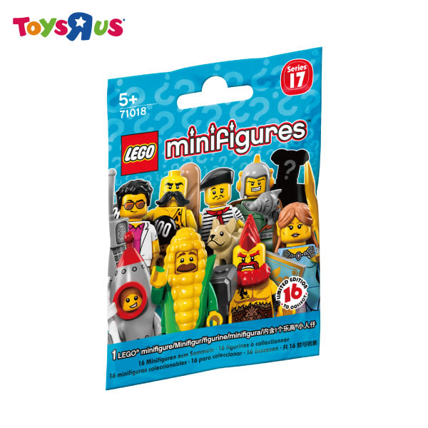 玩具反斗城 LEGO樂高 71018 The Minifigures_Series 17(隨機出貨)