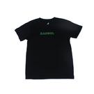 KANGOL 童裝 短袖T恤 黑色 綠袋鼠大LOGO 6126500420 noG42