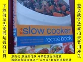 二手書博民逛書店The罕見Slow Cooker recipe book 慢燉鍋