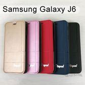 【Dapad】經典隱扣皮套 Samsung Galaxy J6 (5.6吋)