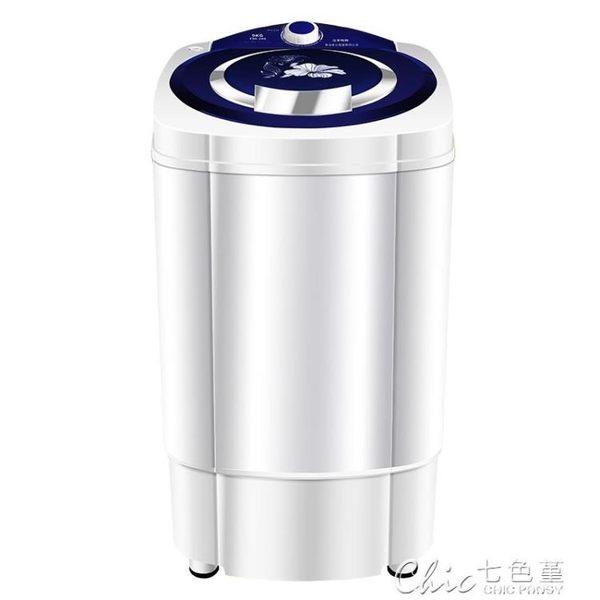 脫水機甩乾機單甩家用大容量不銹鋼脫甩乾桶單筒非小型迷你洗衣機220VYXS 七色堇