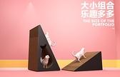 貓抓板磨爪器立式抓柱窩耐磨防抓沙發貓玩具貓咪用品貓爪板【宅貓醬】