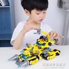 匹配積木城市7汽車拼裝9兒童玩具男孩子益智動腦拼插智力12歲 名購居家