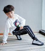 童鞋男童運動鞋秋冬加絨兒童鞋子女童新款貝殼頭二棉潮鞋『櫻花小屋』