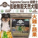 【zoo寵物商城】美國紐健士》低敏無穀天然全齡犬糧(火雞+蔬果)-300g