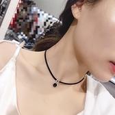 2020年新款脖子頸錬女鎖骨錬短款頸帶黑色網紅項圈裝飾飾品項錬潮 快意購物網