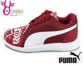 Puma 女童慢跑鞋 S超人 ST Trainer Evo Supeman Street PS 運動鞋I9568#紅色◆OSOME奧森童鞋/小朋友