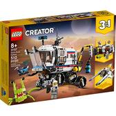 樂高積木 LEGO《 LT31107 》創意大師 Creator 系列 - 太空探測車 / JOYBUS玩具百貨
