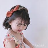 甜美布藝蝴蝶結兒童發箍韓國女童頭箍發飾品寶寶發卡【東京衣秀】