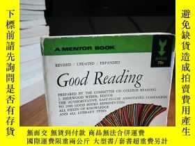 二手書博民逛書店A罕見MENTOR BOOK : GOOD READINGY12