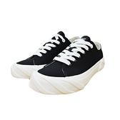 KANGOL 女款黑白帆布休閒鞋-NO.6952200220