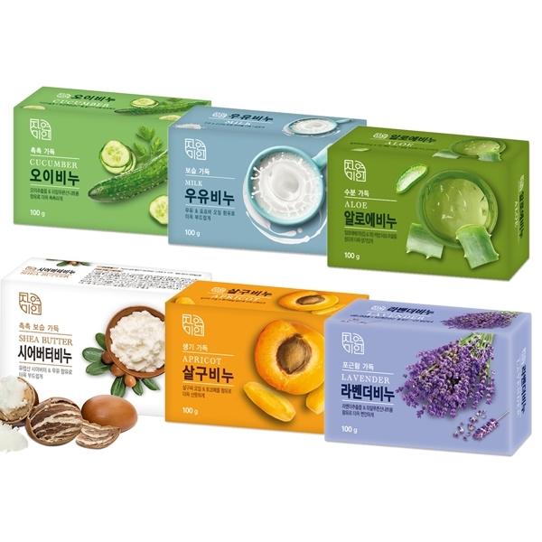 韓國 MKH 無瓊花 保濕美肌皂/SPA放鬆泥皂(100g) 多款可選【小三美日】身體皂