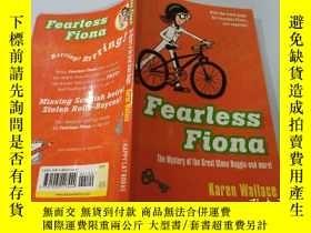 二手書博民逛書店Fearless罕見Fiona:無所畏懼的菲奧娜Y200392