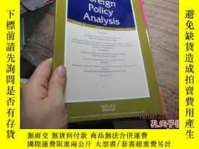 二手書博民逛書店foreign罕見policy analysis volume