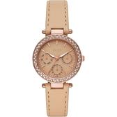 【ELLE】/三眼晶鑽時尚腕錶(男錶 女錶 Watch)/ELL23001/台灣總代理原廠公司貨兩年保固