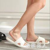 拖鞋男士夏季室內防滑軟底洗澡浴室拖鞋夏天拖鞋 XW1497【極致男人】