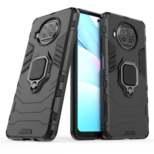 小米紅米Note 9 4G 5G / Note 9 Pro 5G 指環支架殼 車載磁吸支架 霧面防指紋防摔殼