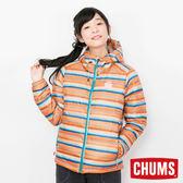 CHUMS 日本 女 600 fill 兜帽羽絨外套 印地橙 CH141072Z055