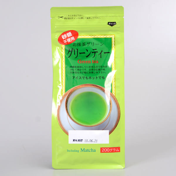 日本 梅之園 無糖抹茶粉 200g(袋)(賞味期限:2019.04.11)