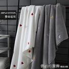 浴巾 男女浴巾情侶成人純棉吸水速干不掉毛加厚家用全棉可穿可裹三件套 618購物節