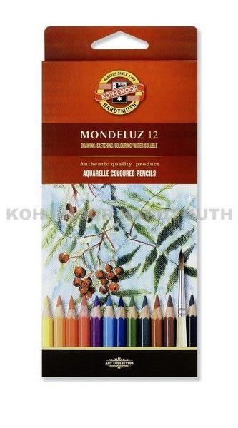 捷克製KOH-I-NOR 12C水性色鉛筆(不含水彩筆)
