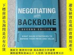 二手書博民逛書店Negotiating罕見with Backbone: Eigh