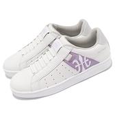 Royal Elastics 休閒鞋 Icon 白 紫 女鞋 懶人鞋 套入式 【ACS】 91912068