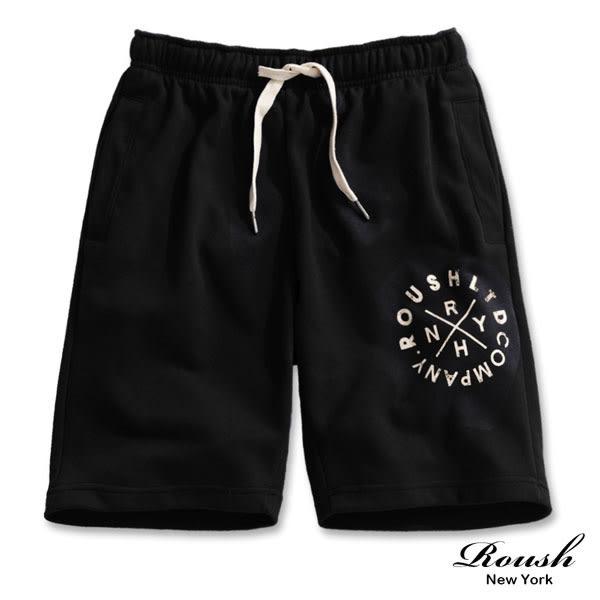 【Roush】美式圓形印花棉質短褲 - 【820118】