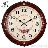 掛鐘/時鐘-鐘錶掛鐘客廳歐式時尚圓形大氣創意電子石英鐘家用靜音時鐘掛錶YYP 糖糖日繫
