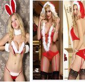 聖誕節的衣服性感套裝成人兔女郎情趣夜裝扮cosply服裝女可愛夜店 溫暖享家