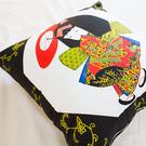 限量 中國娃娃 方抱枕 表布純棉 精選素材粒粒飽滿 台灣製