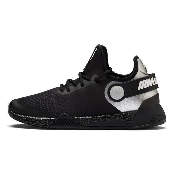 Puma BMW 男 黑 運動鞋 HYBRID 慢跑 聯名款 健身 輕盈 套襪式 橡膠外底 緩震 貼合 鞋子 30638801