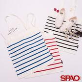 SPAO條紋休閒風手提袋-共3色