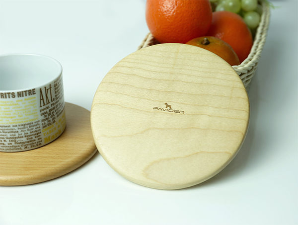 極簡風小資 隔熱墊 加拿大天然原木(楓木) 熱墊板